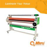 Laminador manual da baixa temperatura do tipo Mf1600-M1 de Mefu com manivela