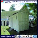 Modèles modulaires économiques de maison de conteneur de perméabilité