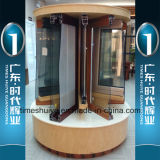 Portes intérieures en aluminium de toilette avec différents modèles