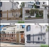 12 ans de garantie en aluminium clôturant le constructeur