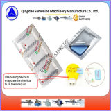 Dose automática do líquido da esteira do mosquito e máquina de envolvimento de Alumnium