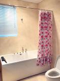 로즈 꽃 PEVA는 목욕탕을%s 샤워 커튼을 방수 처리한다