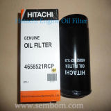 Filtro de petróleo do motor do elevado desempenho para a máquina escavadora/carregador/escavadora de Hitachi