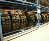 휴대용 강철 타이어 선반 저장 시스템