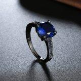 Injetor preto redondo do projeto 2017 novo chapeado com o anel de vidro azul