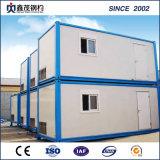 鋼鉄構造プレハブの物質的な容器の家の容器のキャンプ