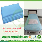 Hojas no tejidas azules médicas de la cama de hospital