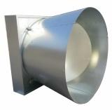RS Serien-Druckbelüftung-Basisrecheneinheits-Kegel-Ventilator für Industrie