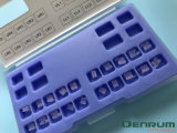 Iso di ceramica del Ce della FDA della parentesi della parentesi di Denrum Orthoodntic