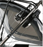 Bici eléctrica ligera de la ciudad de la batería de litio con el motor del centro del Bb de la diversión 8