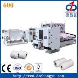 Linha de produção sem parar inteiramente automática do papel de tecido do toalete 600