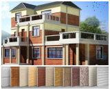Prefabricated 집을%s 금속에 의하여 돋을새김되는 벽 훈장 위원회
