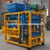 Qt4-25는 비산회 시멘트 건축을%s 전기 벽돌 구획 기계를