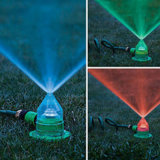 庭Lawn Irrigation 7 Color Changing (HT1040)のためのLED Sprinkler