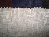 Stof van de Controle van de Jacquard van de wol de Polyester Ineengekrompene