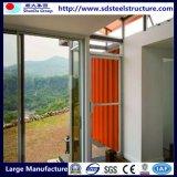 Precio de la vivienda de lujo ensanchable plegable prefabricado del envase del envío los 40FT