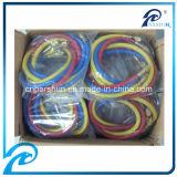 Tubo flessibile di carico Refrigerant di colori di alta pressione tre