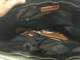 개인화한 포도 수확 숙녀는 화포 핸드백 어깨에 매는 가방을 밀초를 발랐다