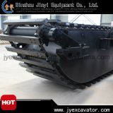 Undercarriage Pontoon를 가진 세륨 Approved Amphibious Hydraulic Excavator