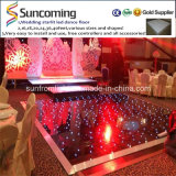 Install fácil Romantic Wedding Portable Light acima do diodo emissor de luz Dance Floor