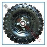 La gomma pneumatica del reticolo profondo del blocchetto da 10 pollici va rotella del carrello