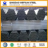 Gran calidad y tubo de acero soldado servicio del transporte de la estructura del negro de carbón