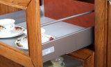 台所家具の贅沢な純木の食器棚(zq-014)