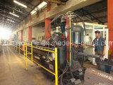 Marcatura di perforazione d'acciaio di angolo di CNC e linea di produzione di taglio