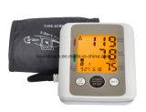 Mètre de pression sanguine d'homologation de FDA de la CE avec le grand affichage à cristaux liquides (BP805)