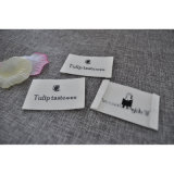 Woven Crocheted Label para Clothing de Girls