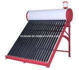 Sin presión calentador de agua solar Decimosexto 200L30