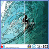 Gebrandschilderd glas (Decoratief glas) met Ce- Certificaat (EGST011)