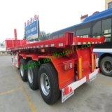 Verkoop van de Aanhangwagen van de Stortplaats van de gemakkelijk-verrichting 20FT Flatbed voor de Markt van Afrika