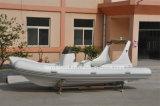 Vente gonflable de bateau de la côte 620 de canot de moteur de bateau de la Chine