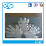 Устранимая перчатка полиэтилена для еды