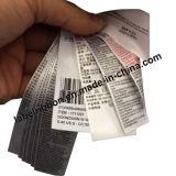 Het Zwarte Dubbele ZijLint Van uitstekende kwaliteit van het Satijn van de Polyester oeko-Tex (PS1211BLK)