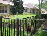 Cerca de aço galvanizada soldadura da cerca de segurança do jardim