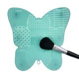 Чистка оборудует уборщика состава силикона сформированного бабочкой для щетки чистки