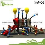 Cour de jeu extérieure de matériel de glissière d'amusement d'enfants