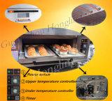 Печь горячей палубы оборудования хлебопекарни сбывания одиночной электрическая
