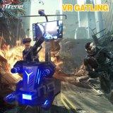 Сражая кино занятности машины игры 9d фактически реальности Gatling Vr