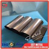 Superiore di stagnola di titanio usata per gli schermi leggeri del vento