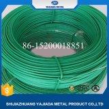 Constructeur galvanisé vert de fil de fer enduit par PVC de couleur