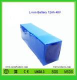 18650 전기 차량 (EA48-12)를 위한 건전지 팩 48V 12ah 리튬 이온 건전지