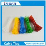 中国の製造者の試供品の高品質の工場柔らかいナイロンケーブルのタイのプラスチック