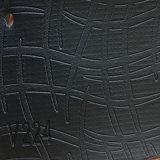 소파 (HS-QF09)를 위한 이탈리아 작풍 PVC PU 합성 Microfiber 가죽
