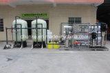 De nieuwe Installatie van de Behandeling van het Water van het Project met het Systeem van de Omgekeerde Osmose
