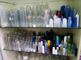 Sgs-automatische lineare Plastikhochgeschwindigkeitsflaschen-durchbrennenmaschine