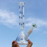 KLEKS stellt Qualitäts-Recycler-Tabak-hoher bunter Filterglocke-Glasfertigkeit-unbesonnener Becher-Trinkwasserbrunnen-rauchendes Glaswasser-Rohr ein