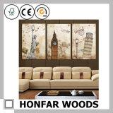 Wand-Dekoration Frameless Kunst-Farbanstrich für Hotel-Haus